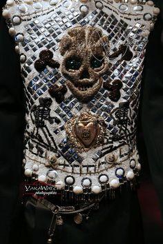 """Collection """"Les Rock Stars"""" 1988 -  Exposition Jean Paul Gaultier - Grand Palais - Paris"""