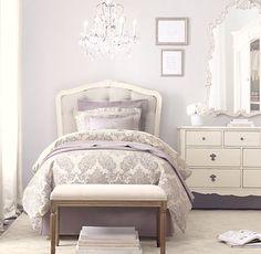 Colette Tufted Headboard | Beds & Bunk Beds | Restoration Hardware Baby & Child - Sophia's big girl room!