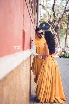 Looking for the perfect Yellow Dresses? ❤ Find a great ideas how to wear a new favourite yellow dress for every occasion ❤ See more at LadyLife ❤ Pre Wedding Photoshoot, Wedding Shoot, Photoshoot Ideas, Wedding Ideas, Wedding Goals, Wedding Blog, Destination Wedding, Latest Bridal Lehenga, Indian Bride And Groom