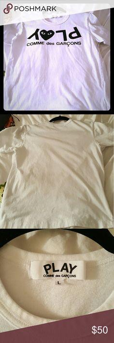 COMME DES GARCONS Short sleeve t shirt Comme des Garcons Tops Tees - Short Sleeve