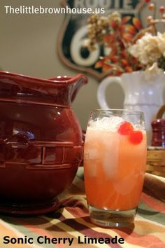 One of my most popular recipes! Super easy Sonic Cherry Limeade