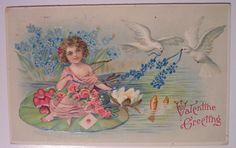 https://flic.kr/p/4pC8QX | Vintage Valentine's Day Postcard
