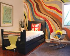London City Theme Boys Bedroom Design, Pictures, Remodel, Decor and Ideas