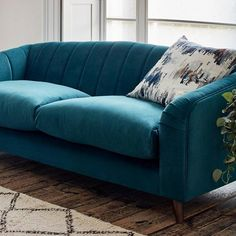 Inspiration | Sofa Workshop Sofa Bed With Storage, Storage Footstool, Large Footstools, Large Sofa, Teal Velvet Sofa, Bedroom Color Combination, Sofa Workshop, Arts And Crafts Interiors, Global Design