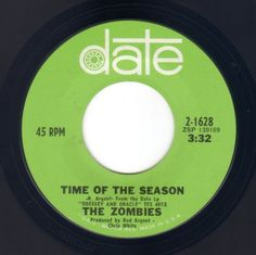 "the zombies ""time of the season"""