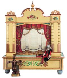 vintage puppet theater - Google Search