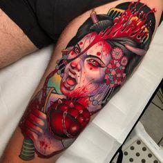 Tattoo by Yonmar - Tattoo Models