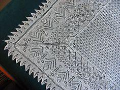 Ravelry: Butterflies Shetland Shawl pattern by Susan Gutperl