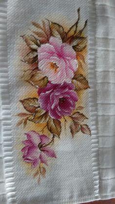 Rosas na toalha