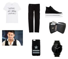 """""""el autor"""" by nan04-11 ❤ liked on Polyvore featuring Dior Homme, Common Projects, Givenchy, Motorola, men's fashion and menswear"""