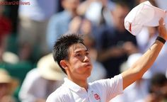 Luck and perfect tennis sends Kei Nishikori to French Open 2017 quarter-finals