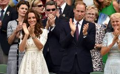 William and Kate at Wimbledon July 2, 2014.