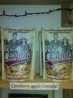 Who wants some Crapola??