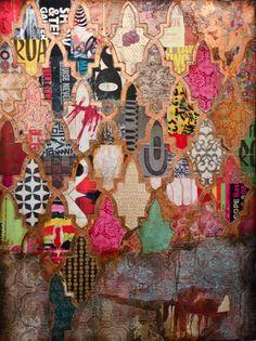 Jill Ricci #art #mixedmedia
