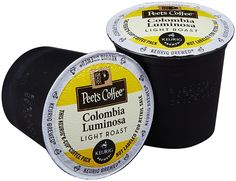Peet's Coffee Colombia Luminosa Light Roast K Cup Coffee for Keurig K-Cup Brewers 40 count * You can find more details by visiting the image link.