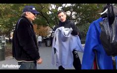They had teamed up with The Thread Society to give out sweaters to the homeless. | The Heartwarming Story Of How A Comedy Group Helped A Homeless Man Finally Get Home