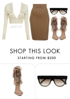 """Untitled #302"" by mk-ct ❤ liked on Polyvore featuring Schutz, CÉLINE, women's clothing, women, female, woman, misses and juniors"