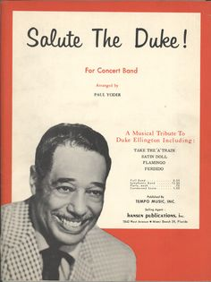 """Take the """"A"""" Train Sheet Music, undatedSam DeVincent Collection of American Sheet Music, National Museum of American History Archives Center."""