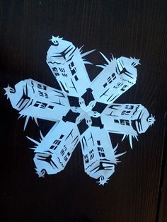 Because why not make DW snowflakes. (Thank you to those who posted ...