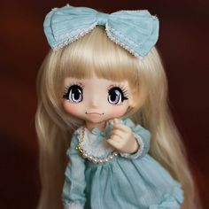 Have you ever seen a doll so cute that it makes you want to punch something? This is one of those times. #kikipop #azonejp #azonedoll #azone #kinokojuice #doll #dollstagram #dollsofinstagram #dolls #toylovers #toycollector #toystagram #bjd