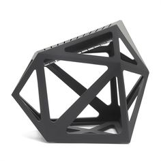 Get on the cutting edge of culinary performance and style with the Black Diamond Knife Block by Edge of Belgravia. Mixing a bold and unique design with an outstanding utility, this knife block is as much a piece of art as it is a cooking tool. Knife Block Set, Knife Sets, Design Shop, Knife Storage, Knife Holder, Fab Life, Kitchen Art, Kitchen Tools, Kitchen Gadgets
