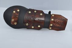 Dwarven Vambraces for a warrior. Made from by ArchdeansMagicShop
