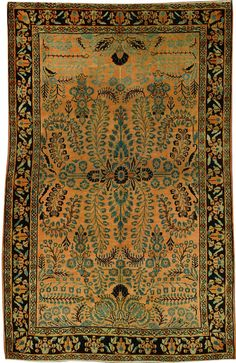 A Sarouk Carpet, No. 10954 - 4ft. 4in. x 6ft. 7in.