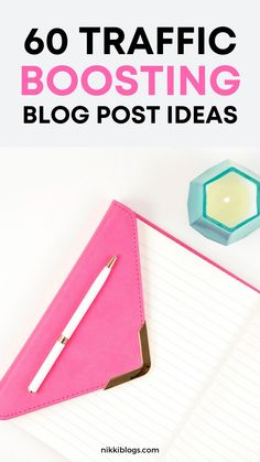 Find 60 traffic boosting blog post ideas to grow your new blog today! These blogging ideas are perfect for finance and business blog owners. #blogideas #bloggingideas #blogpostideas #blogposts #howtoblog