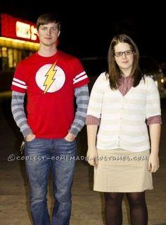 Dr. Sheldon Cooper and Amy Farrah Fowler Couple Halloween Costume