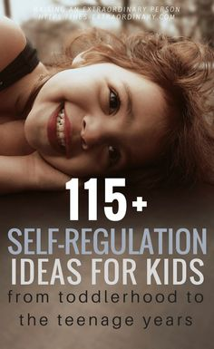 115 Self Regulation Strategies for Toddles to Teenagers | Teaching Healthy Emotional Regulation | Self-Regulation for Children with Autism and ADHD - #ADHDKids #SelfRegulationIdeas #EmotionalRegulation #AutismKids