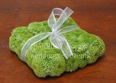 #ringbearer #ringpillow #greenchrysanthemums Ring Pillow, Ring Bearer, Chrysanthemum, Wedding Events, Herbs, Flower Girls, Green, Flowers, Budget