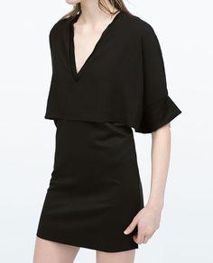 ZARA - WOMAN - DOUBLE LAYER DRESS