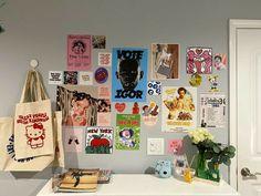 Indie Room Decor, Cute Room Decor, Room Ideas Bedroom, Bedroom Decor, Bedroom Inspo, Uni Room, Cute Room Ideas, Pretty Room, Room Goals