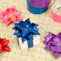 Personally not really into bows - but might look cute on the outside of a purse/wallet - also made out of Duck Tape If you like Duct Tape please follow our boards!