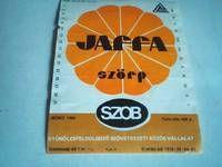 Jaffa szörp