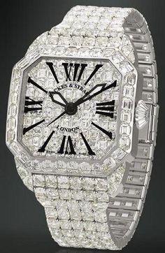 Cartier Diamond Watch.                                                                                                                                                                                                                                                                                                                                                                           ❤Bling!Bling!❤