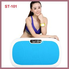 HOT Ejercicios 230W Power ST-101 Fit Vibrating Foot Crazy Massage Slim Body Vibrator Slimming Fitness Weight Loss Device 220V