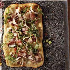 Pizza Bianca with Prosciutto and Fig Recipe