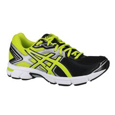 Tênis Asics Gel Pursuit 2 Casual Masculino Black Lime Silver Na Passo a  Passo Online você a041e50b14bb7