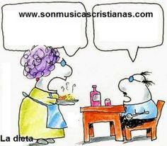 La dieta – Chistes