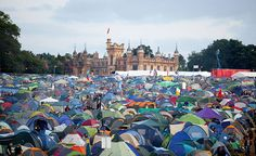 Sonisphere Festival: Knebworth House 2011 - overlooking the festival site'.. DOes the end justify the means? No