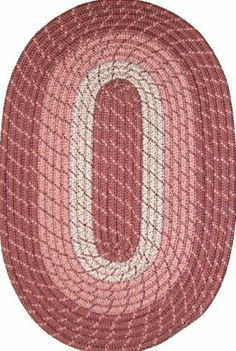 """Plymouth 22"""" x 108"""" (Runner) Braided Rug in Light Rose by Constitution Rugs LLC. $59.99. Reversible for added wear. 100% Nylon BCF surface yarns. Manufactured 100% in the U.S.A. Stitched with Polyester sewing thread. Rugged Tubular Braid Construction. Banded premium tubular braided rug enhances both contemporary and traditional room decors"""
