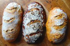 No-Knead Bread Variations via @kingarthurflour