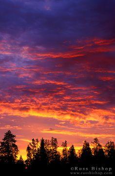 Sunrise, Grand Teton National Park, Wyoming; photo by Russ Bishop