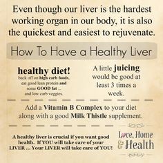 How to Have a Healthy Liver - It's much easier than you would think. And a sluggish or fatty liver can easily be turned around in less than 6 weeks.