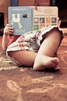 This looks like any one of our kids at that age... and like one of our books!