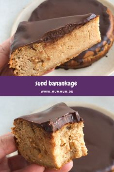 Healthy banana cake on 6 ingredients, Healthy Banana Cakes, Healthy Cake, Healthy Snacks, Healthy Recipes, Dairy Free Recipes, Baking Recipes, Dessert Recipes, Desserts, Gluten Free Cakes