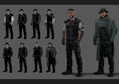 ArtStation - Sci-Fi/Cyberpunk Detective Concepts, Evozon Game Studio