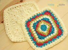 Family Square #crochet