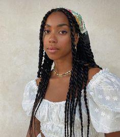 Black Girl Braided Hairstyles, Black Girl Braids, Braids For Black Hair, Girls Braids, Black Girl Hair, Baddie Hairstyles, Box Braids Hairstyles, Protective Hairstyles, Senegalese Twist Hairstyles